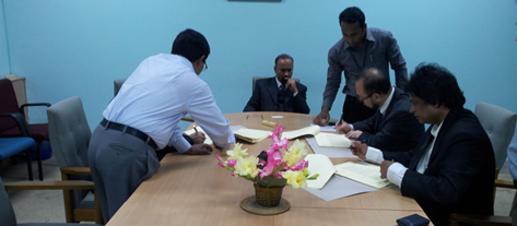 FSPDSME Contract Signing, 2013